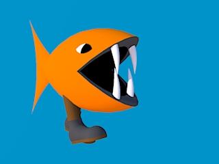 darwin fish mascot